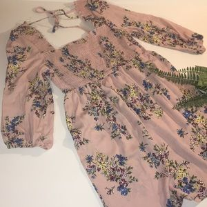 Xhilaration floral sun dress/tunic